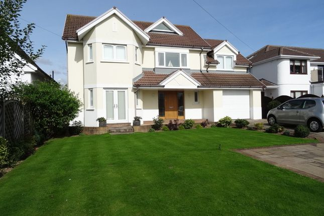 Thumbnail Detached house for sale in The Willows, Danygraig Avenue, Newton, Porthcawl
