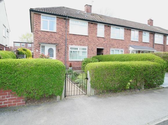 Front of Grange Avenue, Cheadle Hulme, Cheadle, Greater Manchester SK8