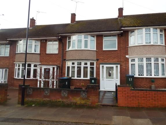 Thumbnail Terraced house for sale in Curtis Road, Coventry, West Midlands