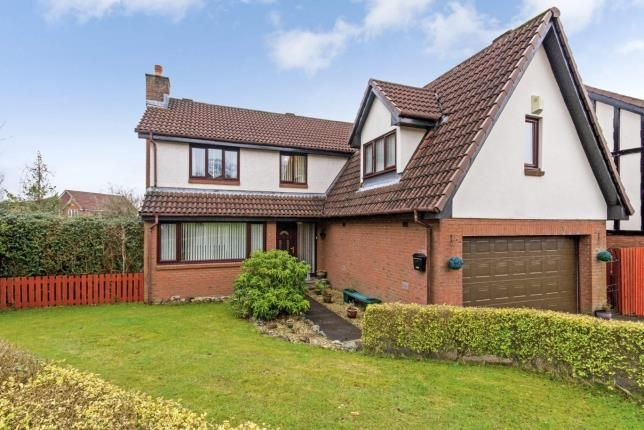 Thumbnail Detached house for sale in Parkinch, Erskine, Renfrewshire