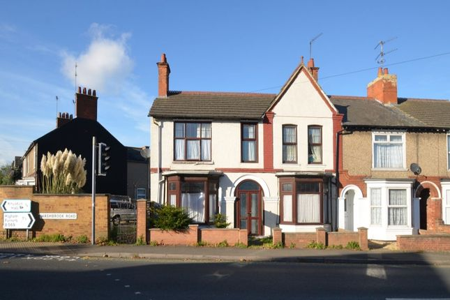Thumbnail Semi-detached house for sale in Washbrook Road, Rushden