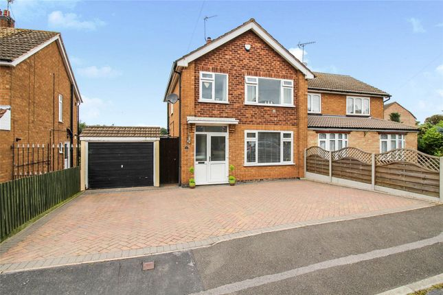 Thumbnail Semi-detached house for sale in St. Johns Avenue, Syston, Leicestershire