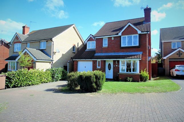 Thumbnail Detached house for sale in Burford Way, Wellingborough