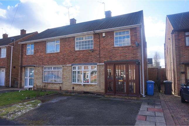 Thumbnail Semi-detached house for sale in Launceston Road, Alvaston