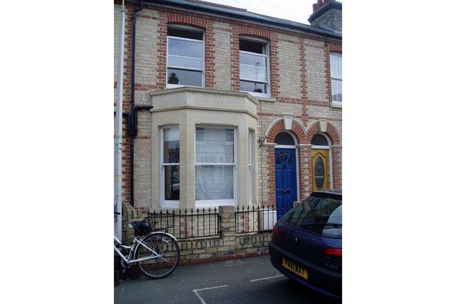 Thumbnail Terraced house to rent in Hemingford Road, Romsey, Cambridge