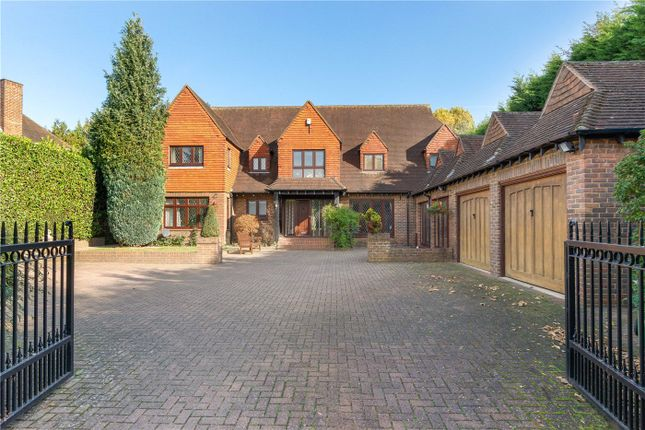 Thumbnail Detached house to rent in The Gardens, Esher, Surrey