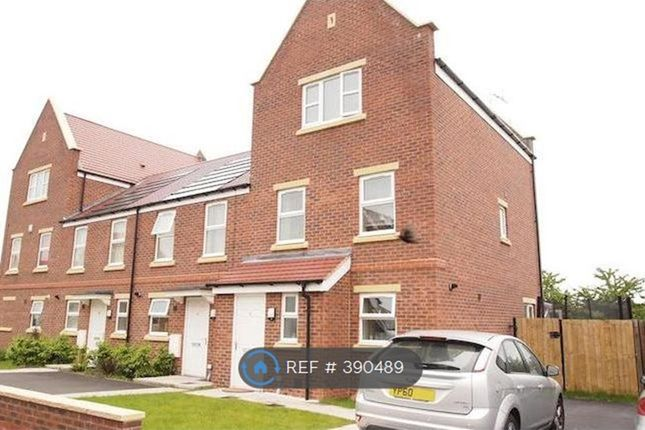 Thumbnail End terrace house to rent in Church Drive Shirebrook, Mansfield