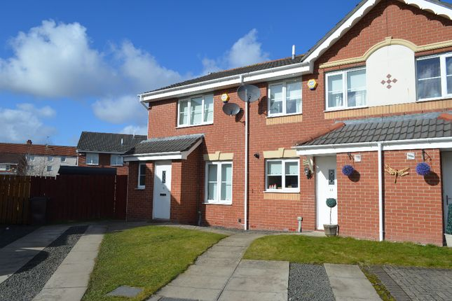 Thumbnail End terrace house for sale in Newhouse Drive, Glasgow