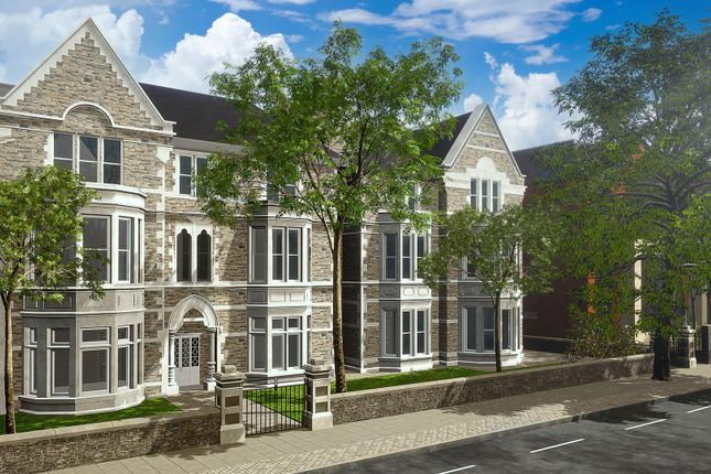 Thumbnail Flat for sale in 3 Llys Sofia, Cathedral Gardens, Cathedral Road, Pontcanna