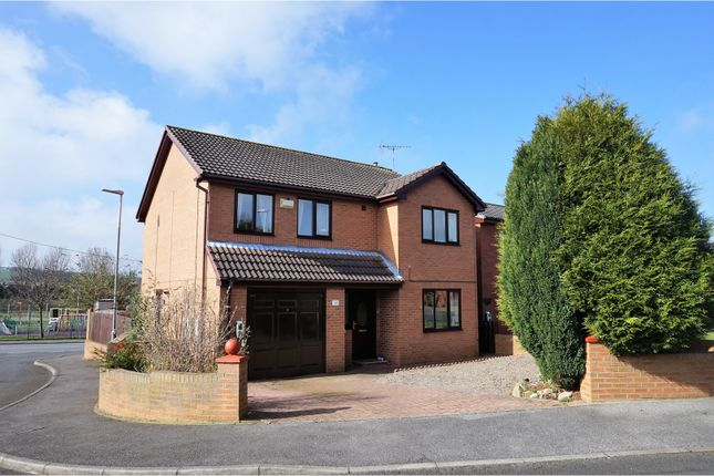 4 bed detached house for sale in Brockwell Court, Bishop Auckland