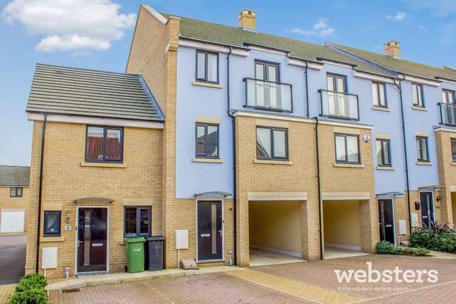 Thumbnail Town house for sale in Ron Hill Road, Costessey, Norwich