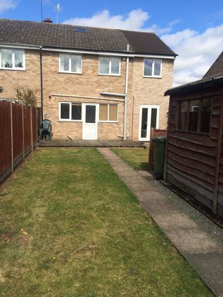 Thumbnail Semi-detached house to rent in Monarch Drive, St John's, Worcester