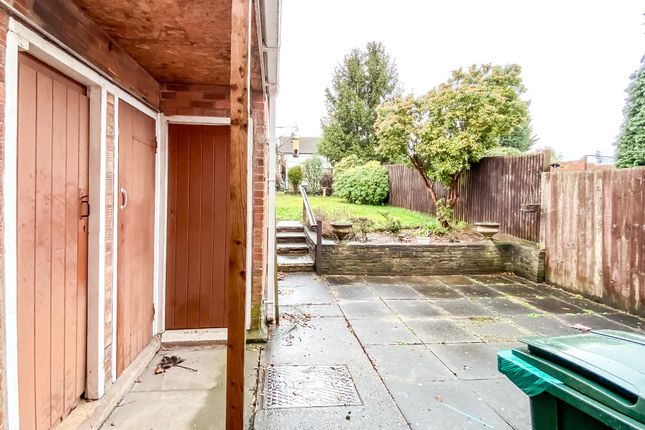 Rear Patio of Clark Street, Bell Green, Coventry CV6