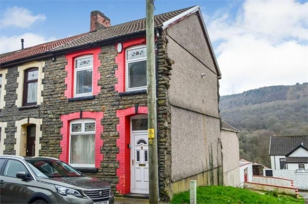 Thumbnail End terrace house to rent in Tyntyla Avenue, Tonypandy