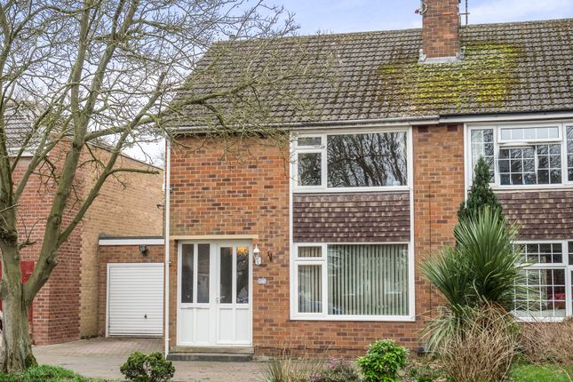 Thumbnail Semi-detached house for sale in Montague Road, Warwick