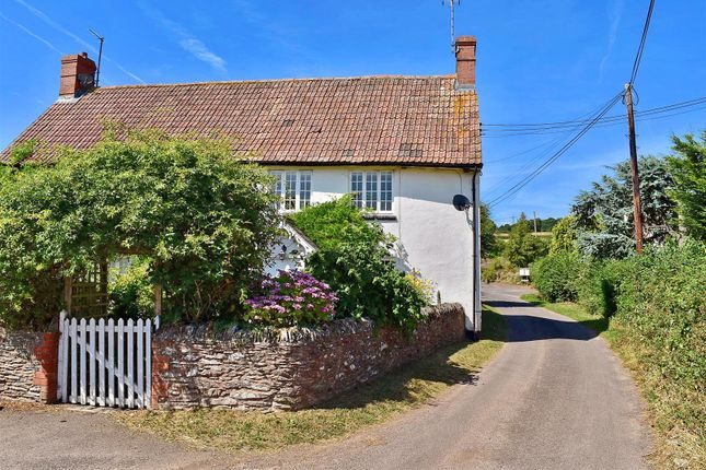 Thumbnail End terrace house for sale in Cheddon Fitzpaine, Taunton
