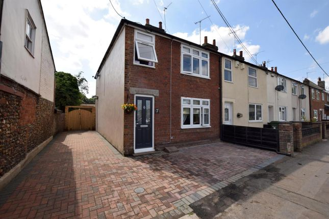 Thumbnail End terrace house for sale in Butler Road, Halstead
