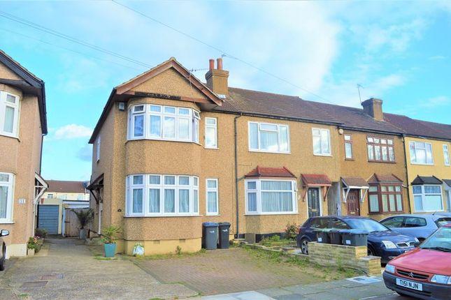Thumbnail End terrace house for sale in Boleyn Avenue, Enfield