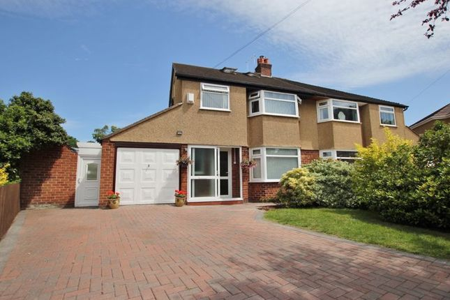 Thumbnail Semi-detached house for sale in Speedwell Close, Heswall, Wirral