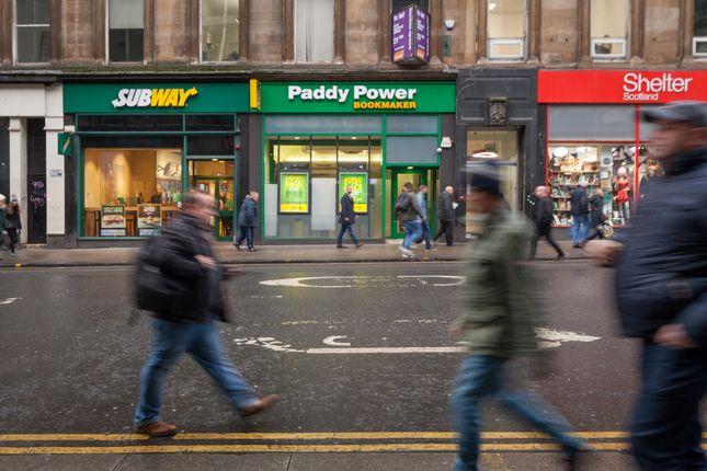Thumbnail Retail premises for sale in Union Street, Glasgow