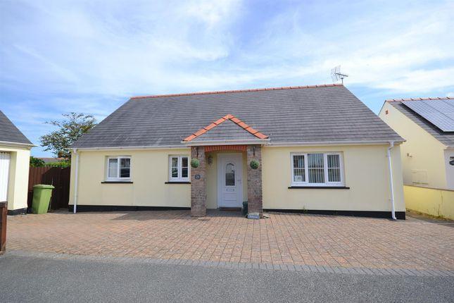 Thumbnail Detached bungalow for sale in Parc Loktudi, Fishguard
