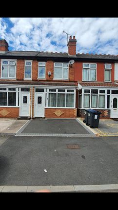 Thumbnail Terraced house for sale in St Benedicts Road, Small Heath Birmingham