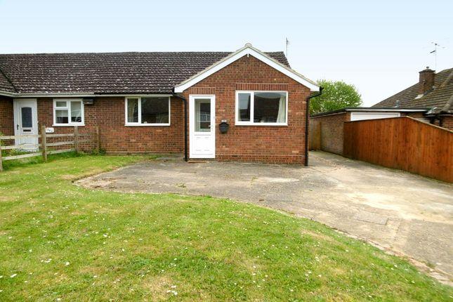 Thumbnail Semi-detached bungalow to rent in Pot Kiln Road, Great Cornard, Sudbury