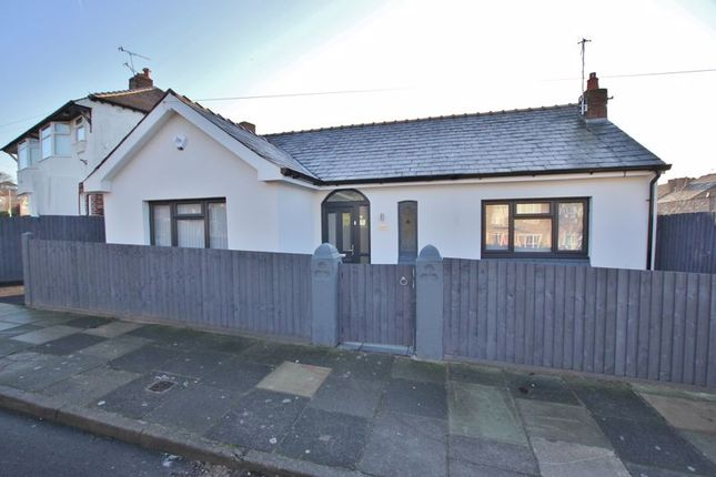Thumbnail Detached bungalow for sale in School Lane, Wallasey, Wirral