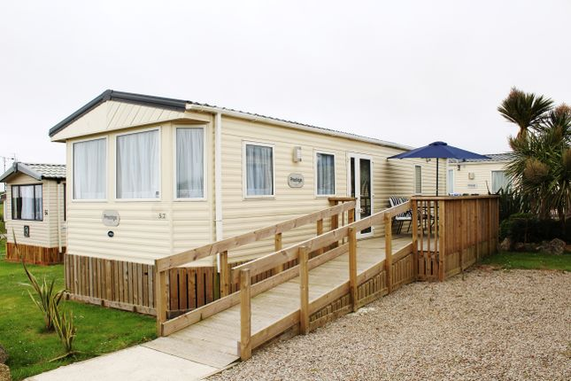Thumbnail Mobile/park home for sale in Seaview Holiday Park, Sennen