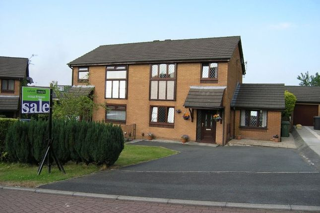 Thumbnail Semi-detached house for sale in Saxon Close, Oswaldtwistle, Accrington