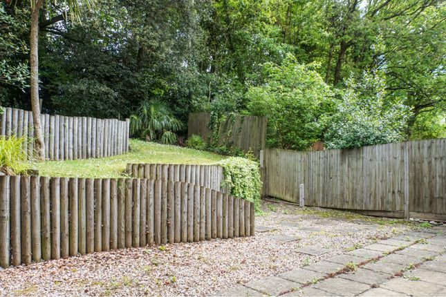 Rear Garden of Burrow Hill Place, Bishopstoke Eastleigh SO50