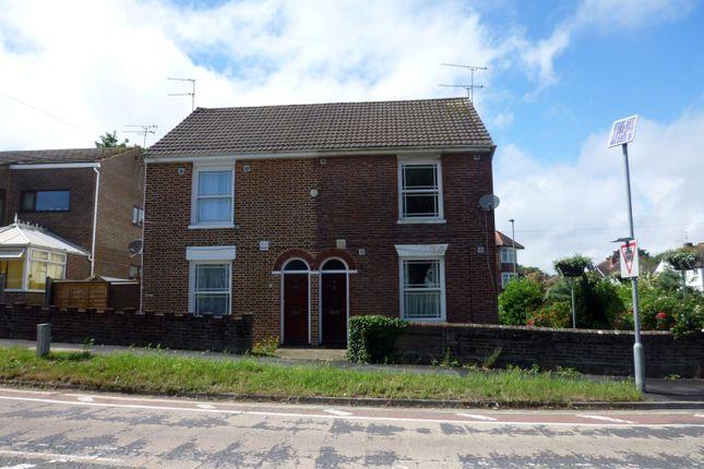 Thumbnail Semi-detached house to rent in Bedhampton Hill, Bedhampton, Havant