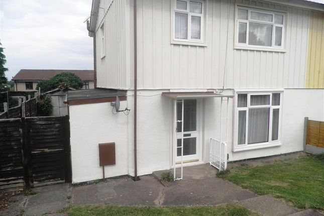 Thumbnail Semi-detached house to rent in Saunton Road, Rugby