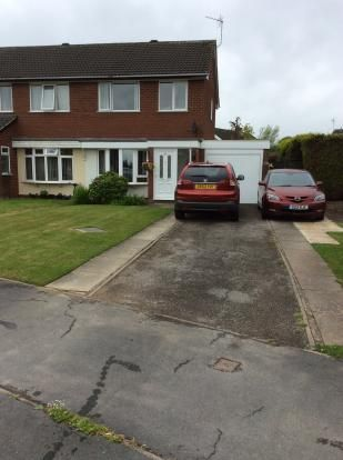 Thumbnail Semi-detached house to rent in Balmoral Crescent, Oswestry, Shropshire