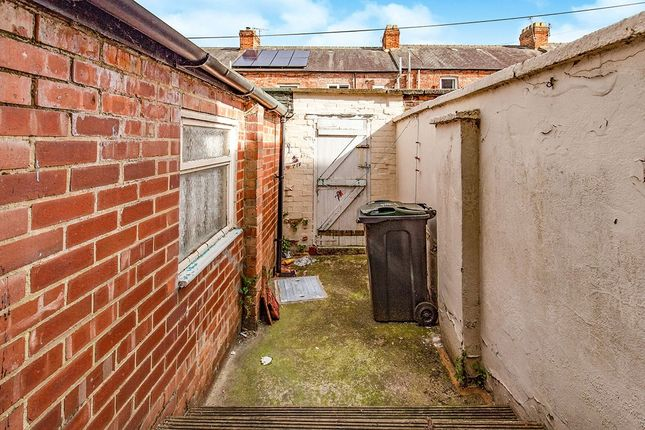 Rear Yard of Kitchener Street, Darlington, County Durham DL3