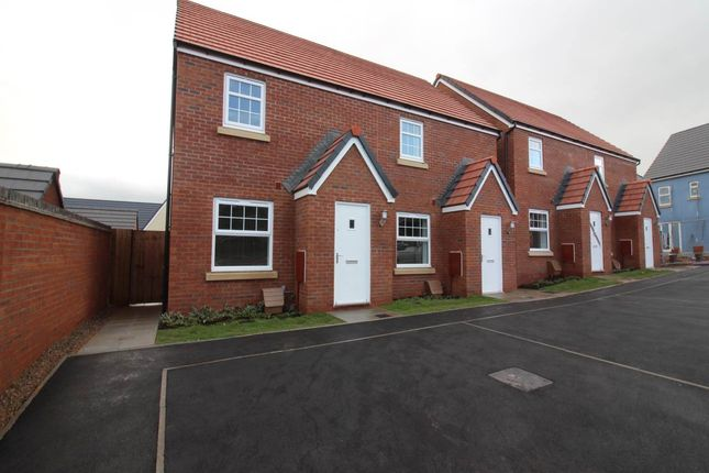 Thumbnail Semi-detached house to rent in Lle Eirlys, Pontrhydrun, Cwmbran