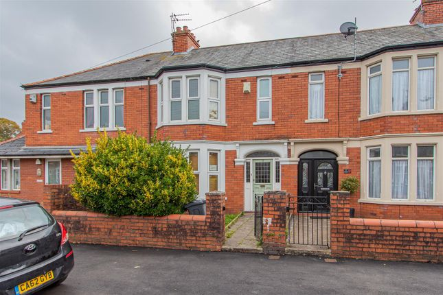 Thumbnail Terraced house to rent in Windway Avenue, Cardiff