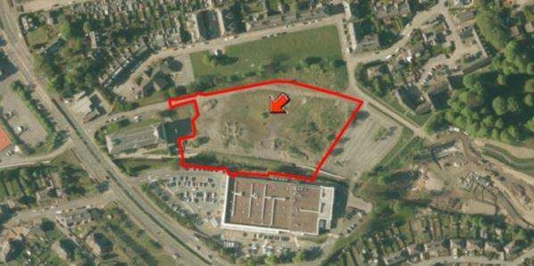Thumbnail Land for sale in Access From Erskine Beveridge Court, Land At St Leonards Street, Dunfermline, Fife