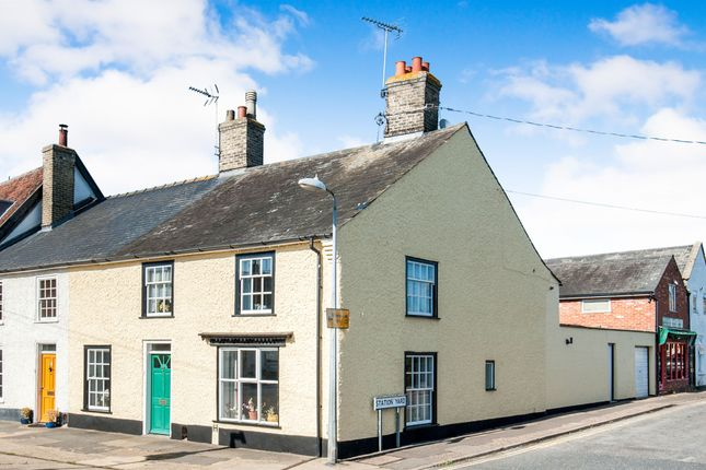 Thumbnail End terrace house for sale in High Street, Needham Market, Ipswich