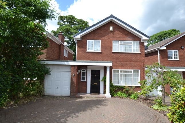 Thumbnail Detached house to rent in Amersham Close, Macclesfield