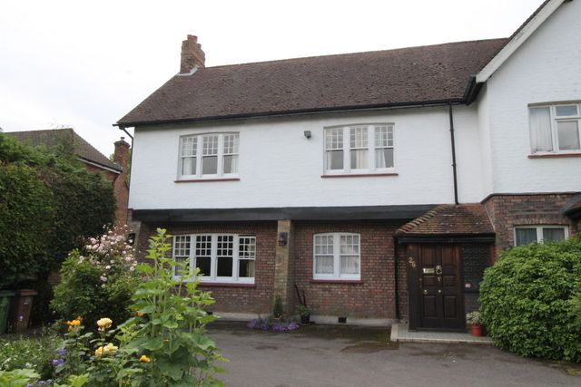Thumbnail Semi-detached house for sale in Woodcote Avenue, Wallington