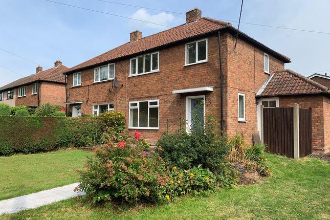 Thumbnail Semi-detached house to rent in Coronation Avenue, Mile Oak, Tamowrth