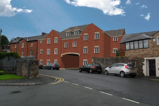 Thumbnail Flat for sale in The Tannery, Oak Street, Oswestry