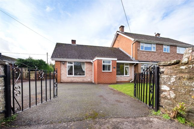 Thumbnail Bungalow for sale in Peterchurch, Herefordshire