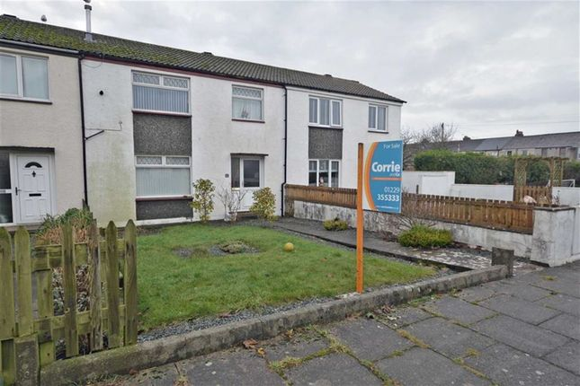 Thumbnail Terraced house for sale in Cook Road, Millom, Cumbria