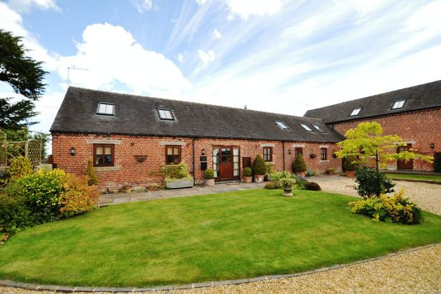 4 bed barn conversion for sale in Nobut Road, Leigh, Stoke-On-Trent