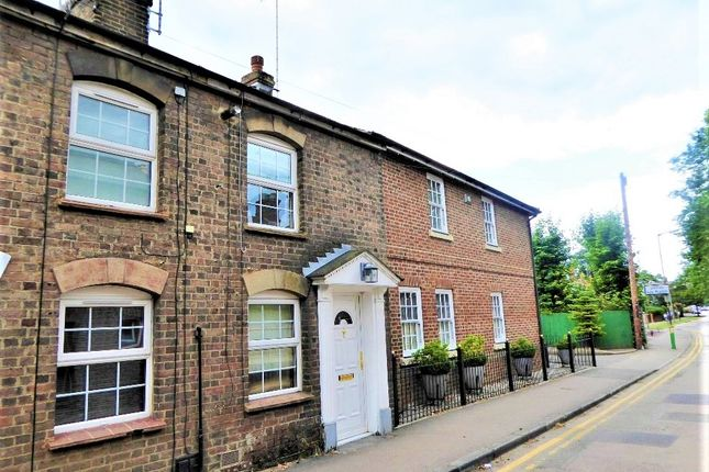 Thumbnail End terrace house to rent in Leyton Road, Harpenden