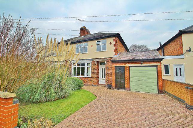 3 bed semi-detached house for sale in Holmdale Road, Syston, Leicestershire