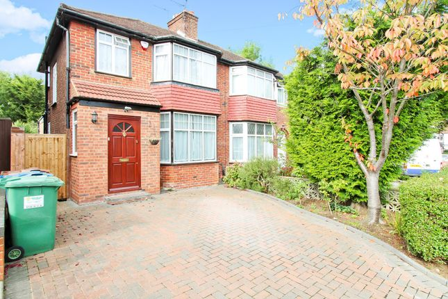 Thumbnail Semi-detached house to rent in Bush Grove, Stanmore