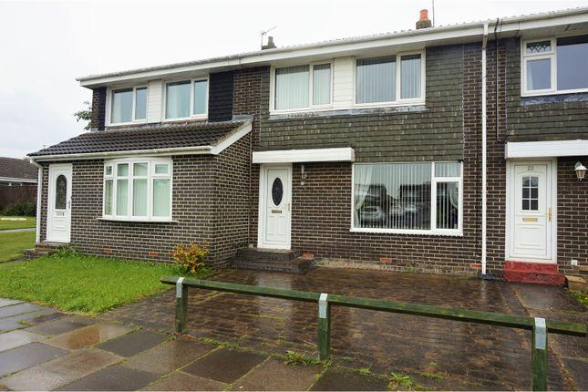 Thumbnail Terraced house for sale in Highburn, Cramlington